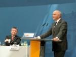 V.r.n.l.: Peter Götz MdB, Bundesvorsitzender der KPV; Hermann Gröhe, MdB, Generalsekretär der CDU Deutschlands