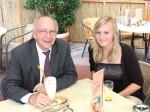 Peter Götz hat die Patenschaft für Schülerin Ronja Mai übernommen, die im Rahmen des Parlamentarischen Patenschafts- Programms ein Austauschjahr in den USA verbringt.