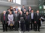 © Daniela Diegelmann, KASPeter Götz (3.v.l.) zusammen mit Abgeordneten des brasilianischen Parlamentes und Bürgermeistern aus Brasilien im Paul-Löbe-Haus des Deutschen Bundestages