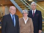v.l.n.r: Peter Götz MdB; Dr. Gisela Volz, Vizepräsidentin bdo; Wolfgang Steinbrück, Präsident bdo