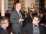 Peter Götz informierte in Durmersheim über bundespolitische Themen.