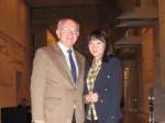 Peter Götz mit Zhang Chi im Reichstag