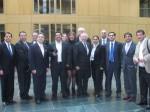 Peter Götz im Kreis der lateinamerikanischen Bürgermeister
