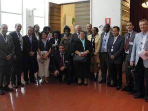 Members of the GPH on the WUF6 World Urban Forum VI