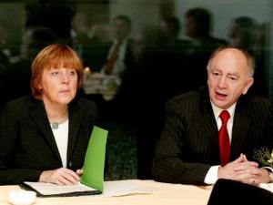 Dr. Angela Merkel und Peter Götz