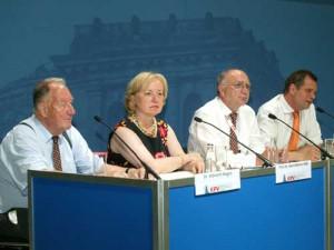 "KPV KongressKommunal ""Integration"" mit Staatsministerin Prof. Dr. Maria Böhmer MdB"