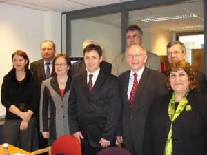 Präsidiumssitzung der GPH-Europa in Brüssel, Belgien