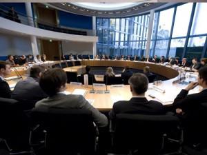 Konstituierung des Ausschusses für Verkehr, Bau und Stadtentwicklung (© Deutscher Bundestag / Marco Urban)