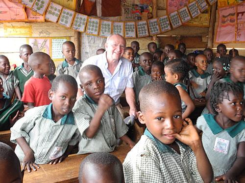 Besuch einer Schule in Kampala