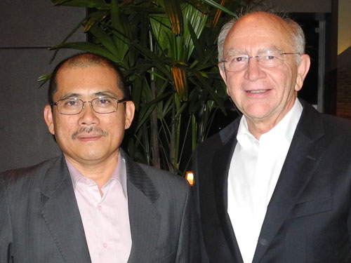 Ronald Kiandee and Peter Götz