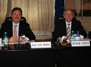 Götz übernimmt das Amt des Weltpräsidenten in Bukarest, Rumänien