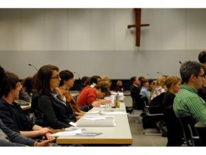 Gäste im Sitzungssaal der CDU/CSU-Bundestagsfraktion (© CDU/CSU-Bundestagsfraktion)