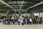 Gruppenfoto mit Peter Götz auf der Fraktionsebene im Reichstag